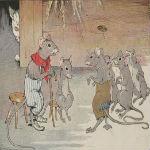 ネズミの相談 イソップ寓話