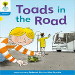 Toads in the Road by Roderick Hunt
