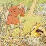 黄金のがちょう グリム童話