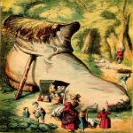 The Little Old Woman who Lived in a Shoe by Joseph Martin Kronheim