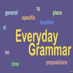 英語で学ぶ英文法 In, On, and At